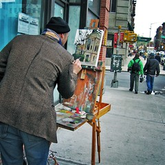 Grand Street: Painter | by moriza