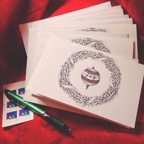 Tangled greeting cards