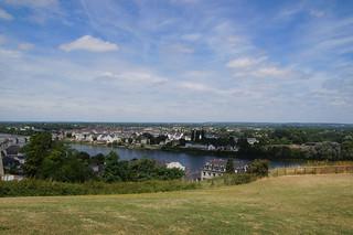 001 Uitzicht bij Kasteel Saumur