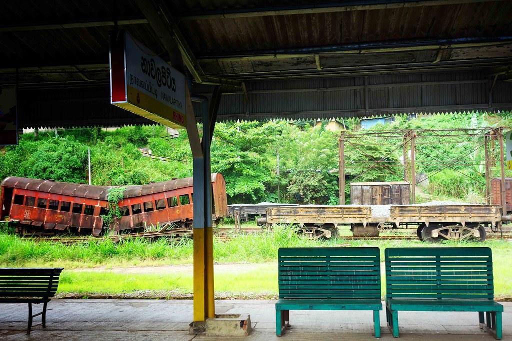 Sri Lanka - Train Kandy Nuwara Eliya et Ella