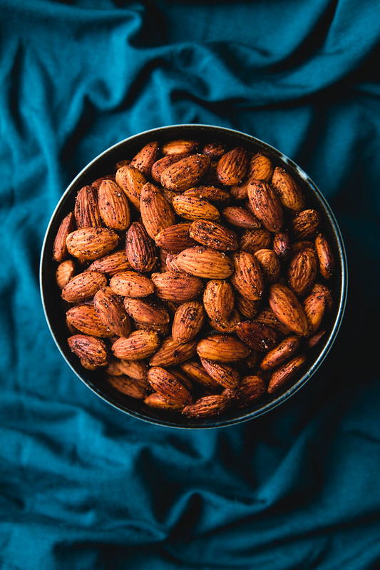 Chili and Chinese Five Spice Toasted Almonds (vegan and gluten-free) | Will Cook For Friends