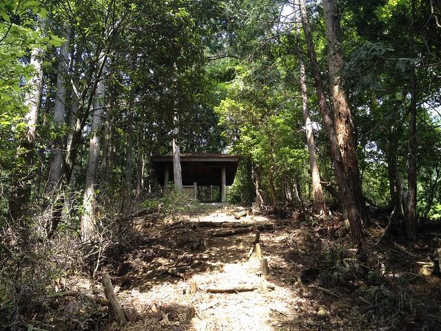 不破の滝 大滝林間歩道 展望台
