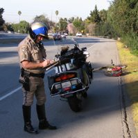 "CHP writes ticket for bicycling ""pedestrian"" on San Tomas Expressway 