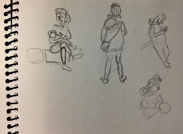 Live sketching