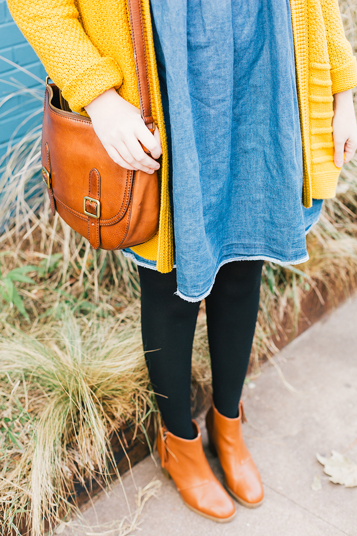 austin style blogger asos smock dress yellow sweater16