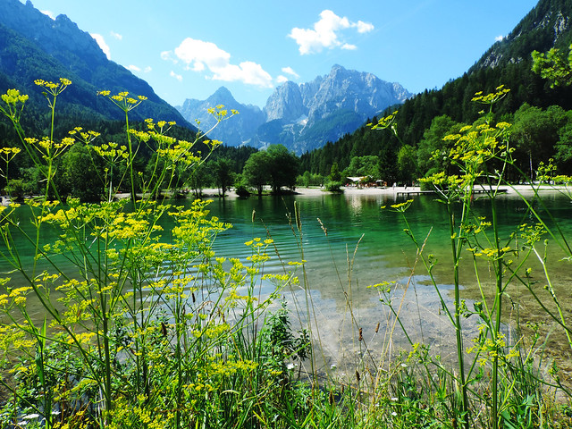 Our Best Travel Moments Of 2016: Lake Jasna, Slovenia