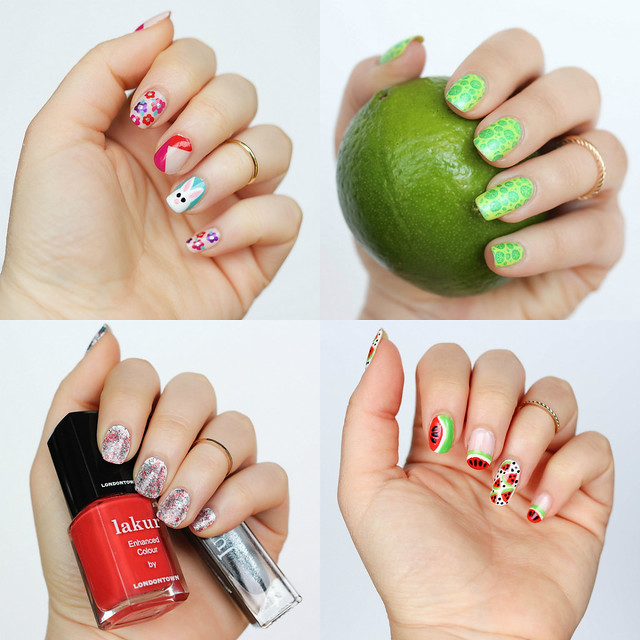 Spring Summer Nail Art Inspiration Best of 2016