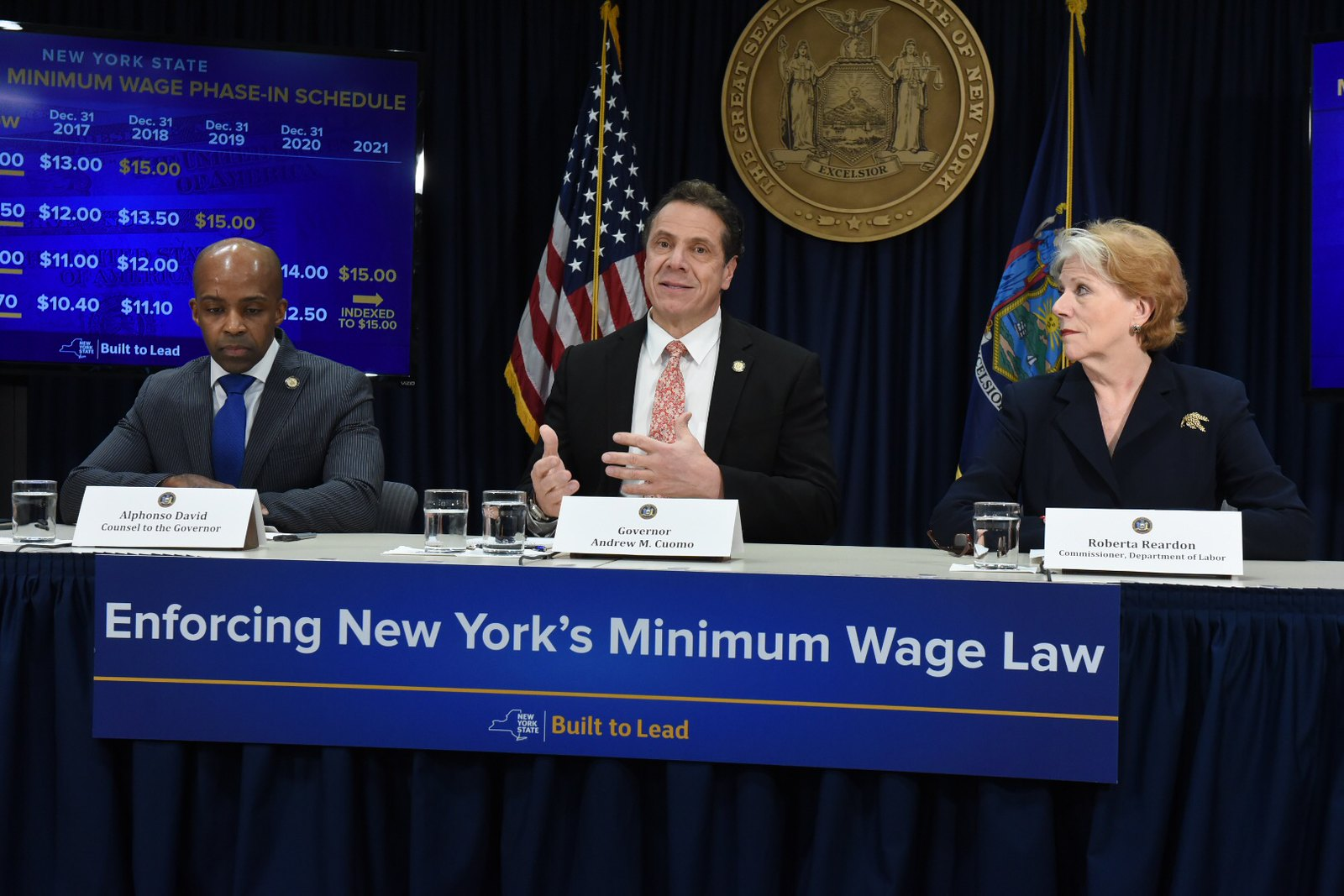 Governor Cuomo Announces Launch of Minimum Wage Enforcement and Outreach Unit