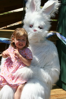 the scary easter bunny | by Alison Coffey