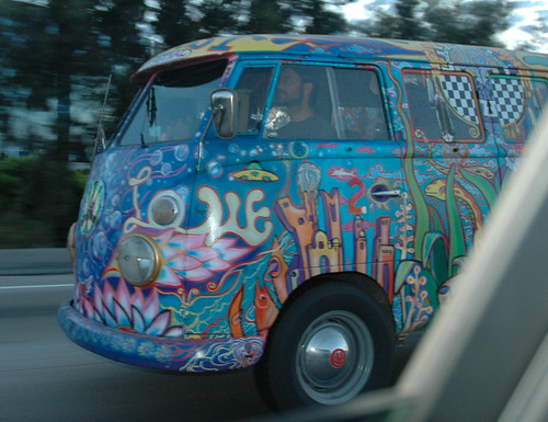 Hippie VW 3 | by Marshall Astor - Food Fetishist