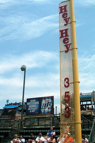 Chicago: Wrigley Field - Foul Pole | by wallyg
