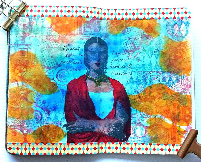 Art journal Frida