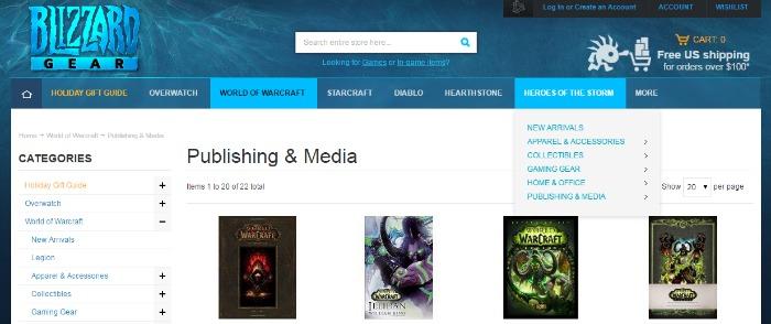 World of Warcraft Publishing Media