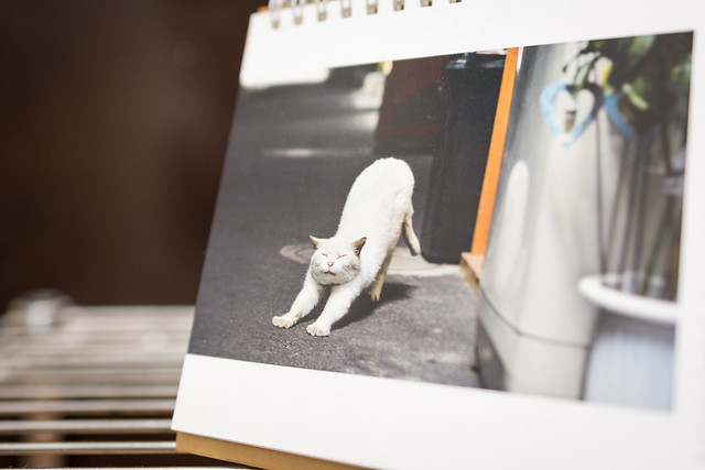 お気に入りの写真をカレンダーにする