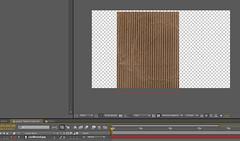 2 - drag cardboard texture into comp