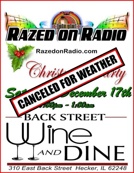 Razed On Radio 12-17-16