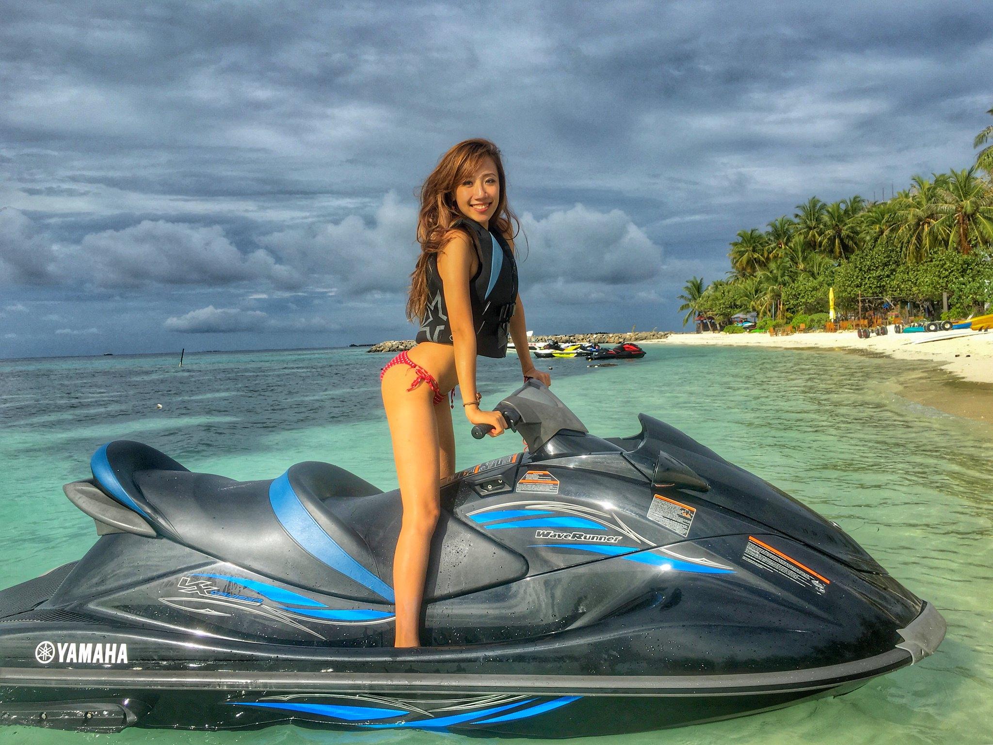 Maldives jet ski