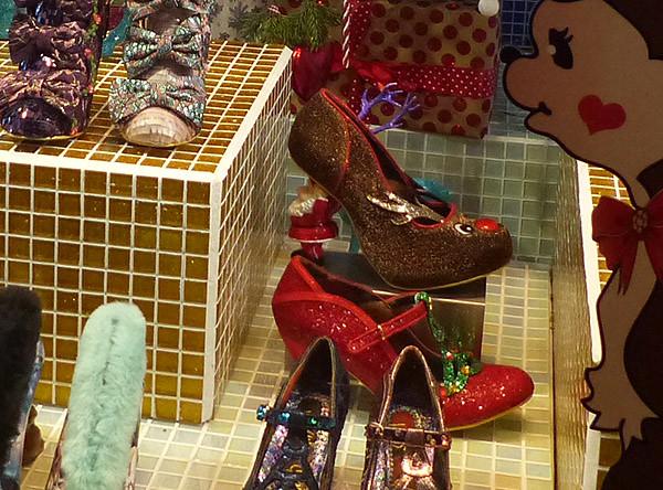les chaussures de la mère Noël