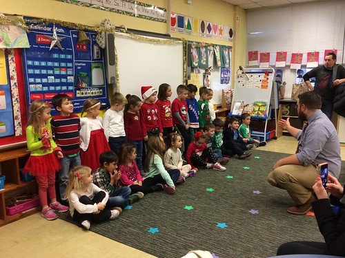 Kindergarten Holiday Party 2016