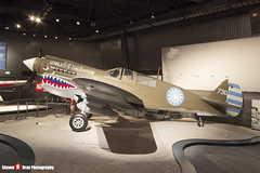 NL10626 44-7192 - 32932 - USAAF - Curtiss P-40N Warhawk - The Museum Of Flight - Seattle, Washington - 131021 - Steven Gray - IMG_3697