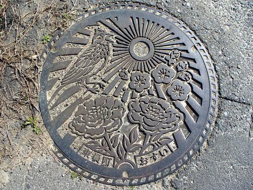 Toin Mie, manhole cover (三重県東員町のマンホール)