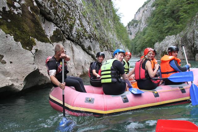 Rafting na Neretvi Adrenalinski spust