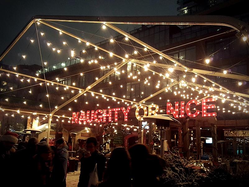 Distillery Christmas Market Toronto