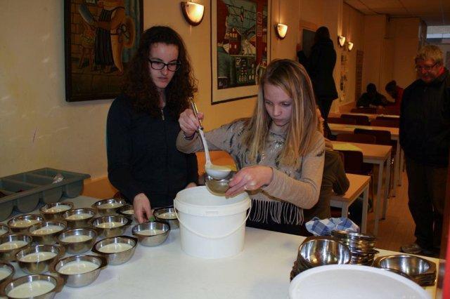 Koken voor daklozen 2013