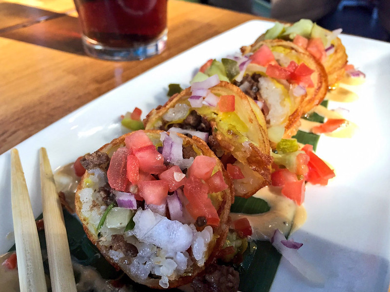 Cheeseburgushi at Cowfish at Universal CityWalk