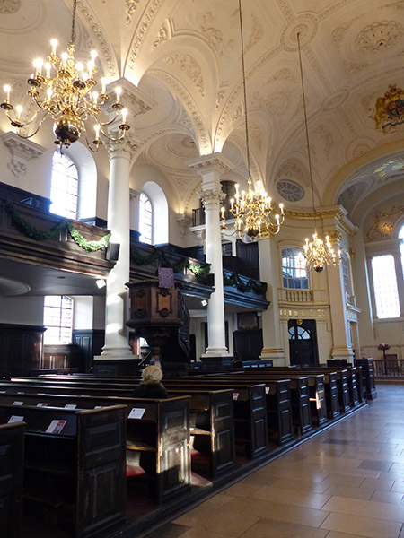 inside saint martin in the fields