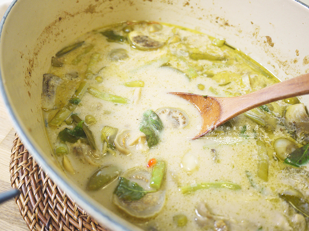 孤身廚房-滿滿新鮮香料版的泰式綠咖哩雞38