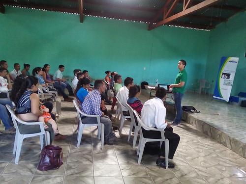 Capacitación de padres de familia en el departamento de Copán