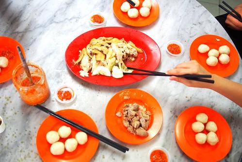 Chung Wah, chicken rice balls, Malacca, Malaysia