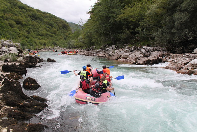 Rafting in Bosnia relax tour