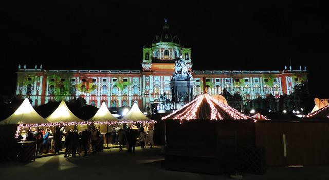 Vienna's Christmas Dream: Maria Theresien Platz, Vienna, Austria