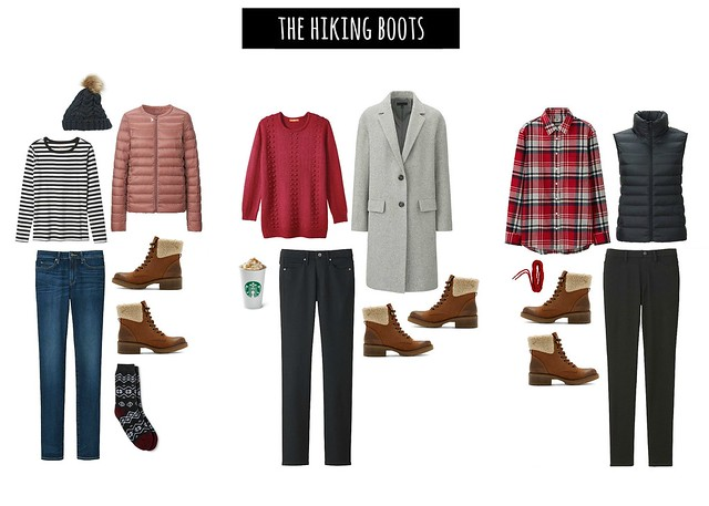 3 ways to wear hiking boots   Style On Target