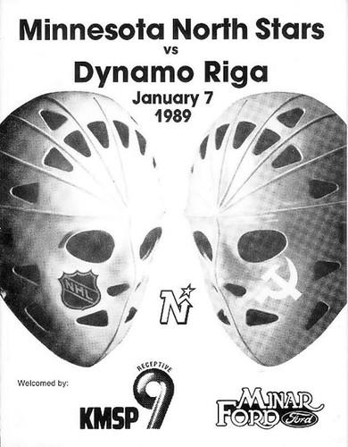 North Stars vs Riga cover