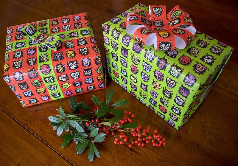Krampus Giftwrap