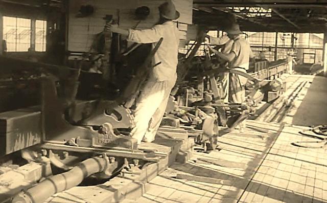 Retrovisor. Henry Ford era também madeireiro, Fordlândia vista da serraria em funcionamento