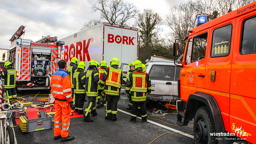 Schwerer Verkehrsunfall A67 05.01.17