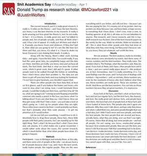 Trump's scientific paper