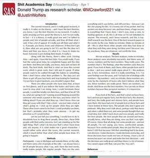 Trump's scientific paper