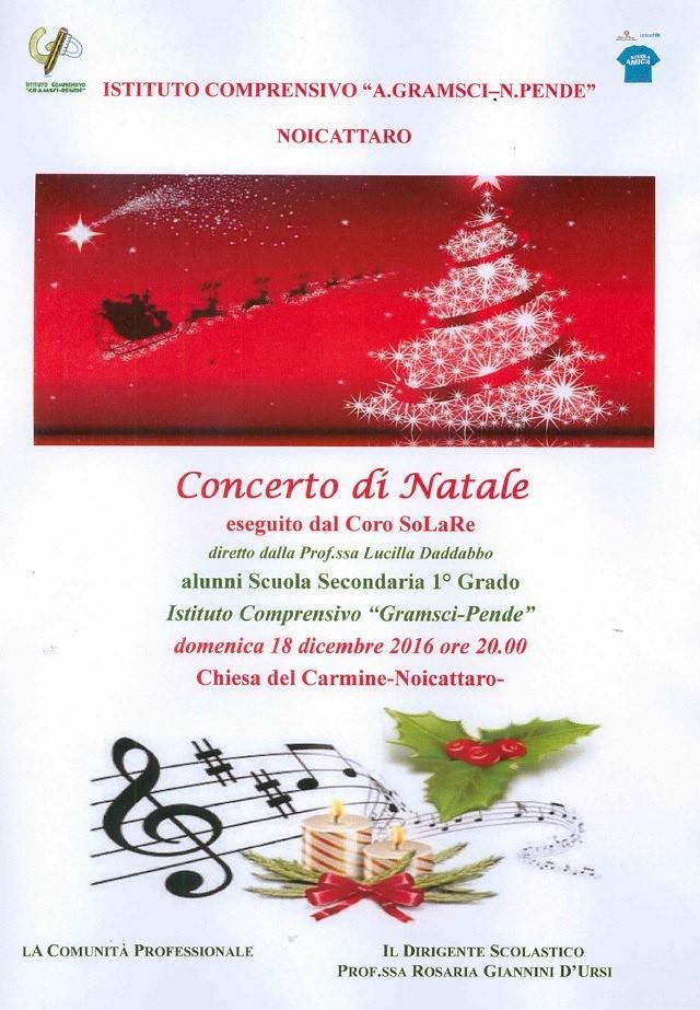 Noicattaro. Concerto di Natale Coro SoLaRe intero