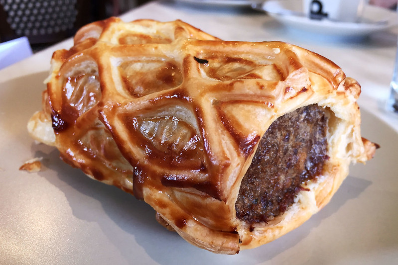 Sausage roll, Stone's Patisserie