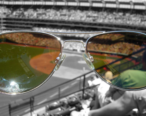 Jacobs Field: The View Through Kevin's Sunglasses | by chrismetcalfTV