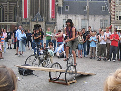 Juggling Knives on a Unicycle | by opencontent
