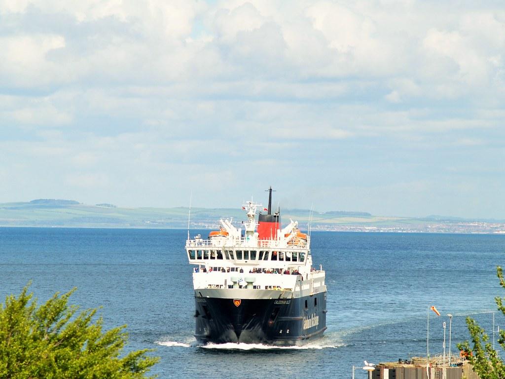 Ferry arriving Brodick, Arran
