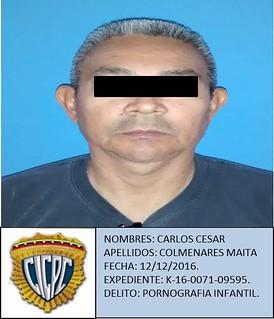 Carlos Colmenares, Pastor evangélico de 54 años, es arrestado por caso de pornografía infantil en San Félix, Ciudad Guayana