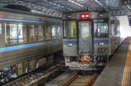 Asahikawa Station on JAN 02, 2016 (17)
