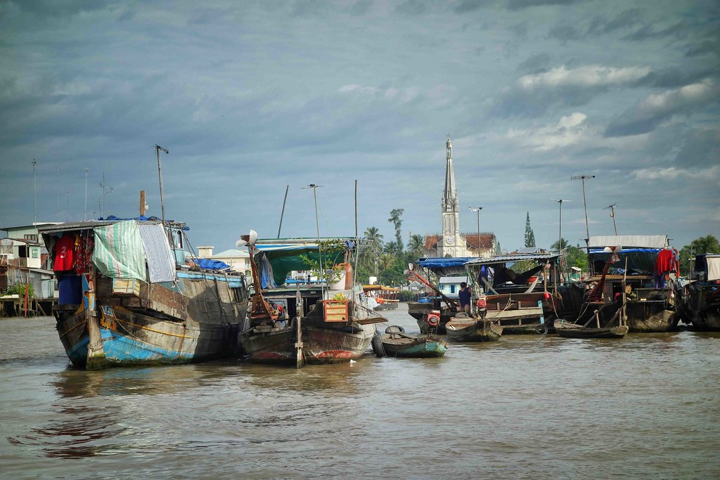 Delta du Mekong - Cai Bè - Floating Market 5